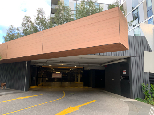 parking on Evergreen Mews in Armadale VIC 3143