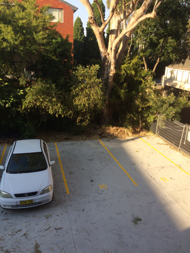 Outdoor lot parking on Cambridge Street in Stanmore