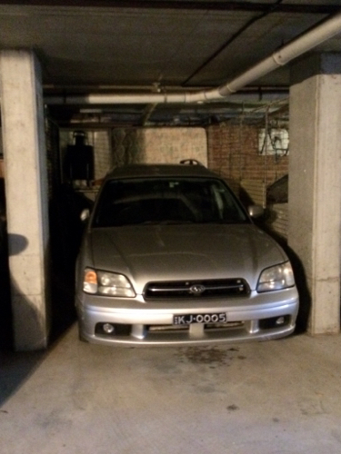 parking on Whistler Street in Manly