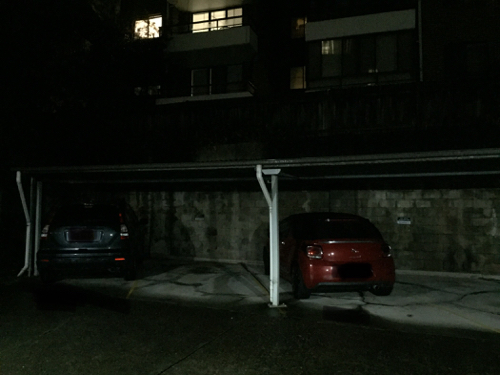 Undercover parking on Helen Street in Lane Cove North