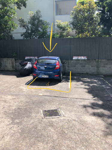 Outdoor lot parking on Sir Thomas Mitchell Rd in Bondi Beach NSW 2026