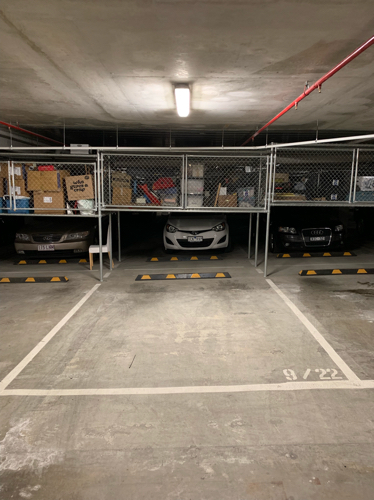 Indoor lot parking on Barkly St in Brunswick East
