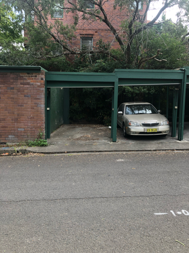 parking on Ellis Street in Chatswood