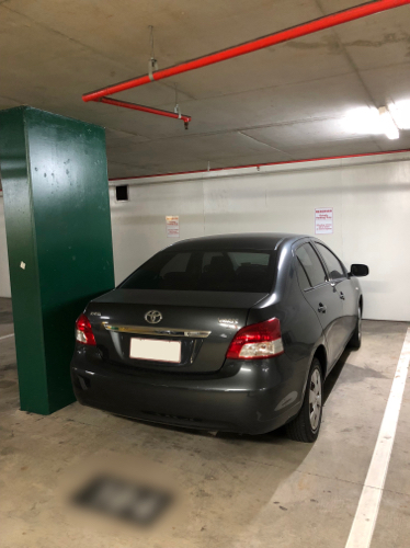 Indoor lot parking on Stanley St in Woolloongabba