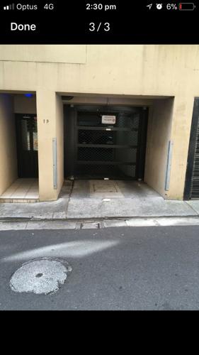 Undercover parking on Kirketon Rd in Darlinghurst