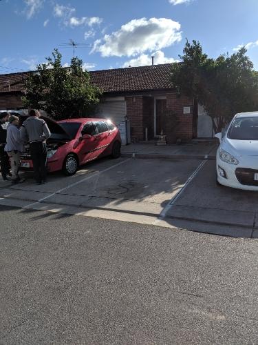 parking on Melrose Dr in Tullamarine