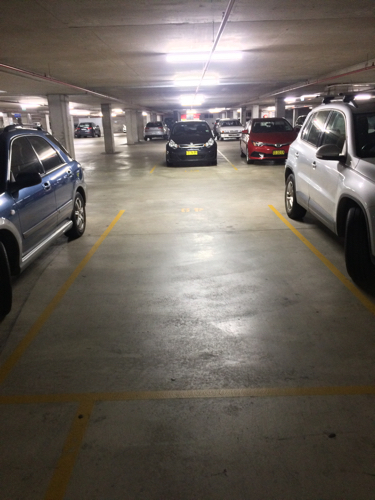Indoor lot parking on Norton Street in Leichhardt