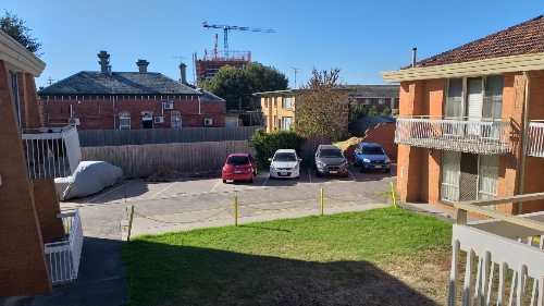 Carport parking on Gordon St in Footscray