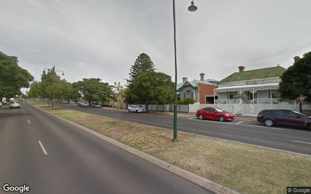 parking on Wills St in Bendigo