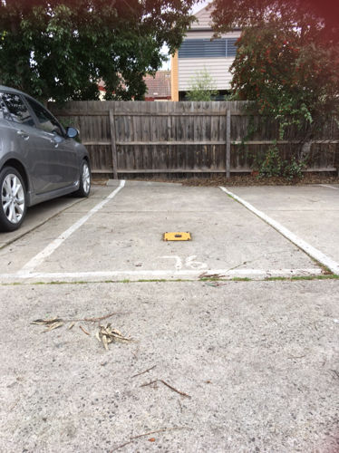 Outdoor lot parking on Inkerman St in St Kilda
