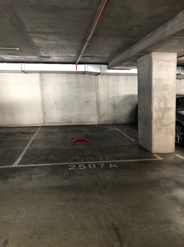 Lock up garage parking on Whiteman St in Southbank VIC 3006