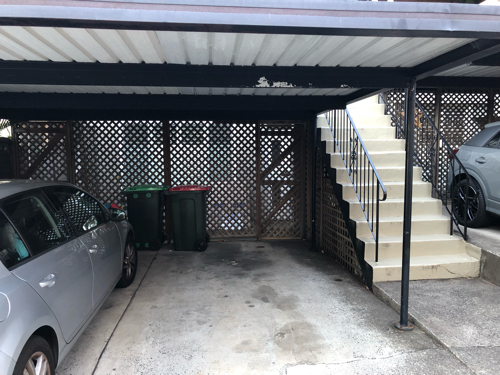 Carport parking on Pacific Street in Bronte NSW