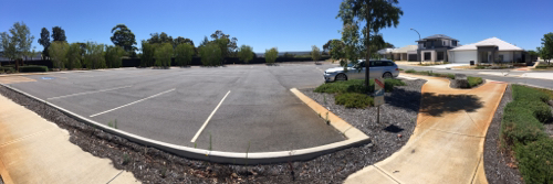 Outdoor lot parking on Renfrew Street in Haynes WA