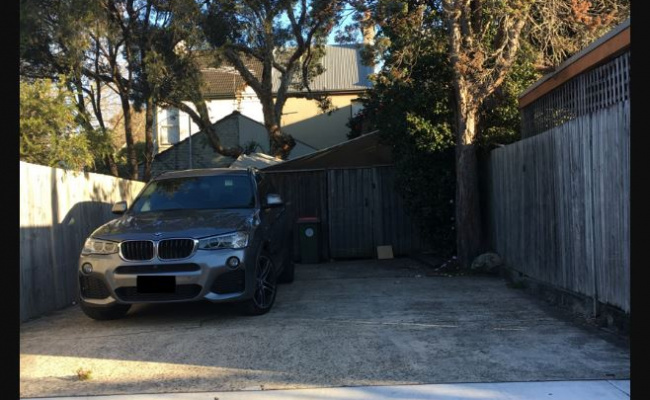 Driveway parking on Falcon Street in Crows Nest NSW