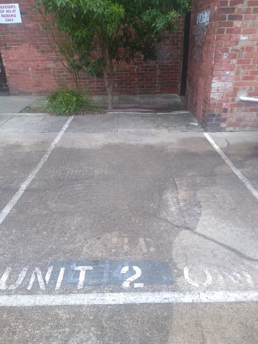 Outdoor lot parking on Acland St in St Kilda VIC 3182