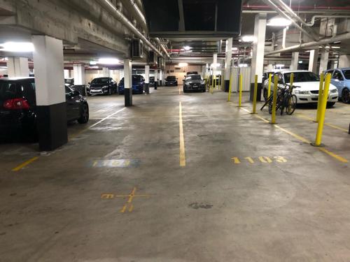parking on Bourke St in Waterloo NSW 2017