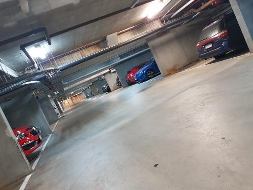 parking on Johnston St in Port Melbourne VIC 3207
