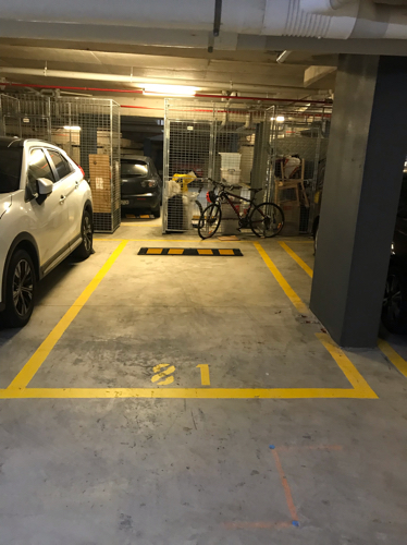 parking on Allengrove Crescent in North Ryde
