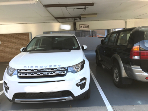 parking on The Crescent in Manly NSW 2095