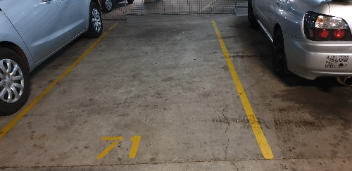 Indoor lot parking on Macquarie Rd in Auburn NSW 2144