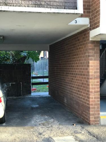 parking on O'Shanassy Street in North Melbourne