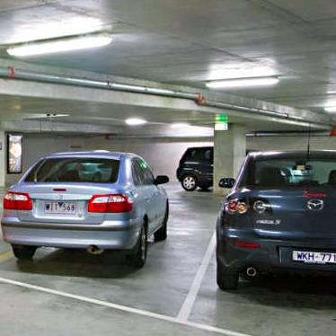 Indoor lot parking on Manningham Street in Parkville