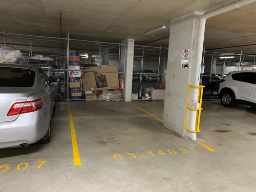 Carport parking on Shoreline Drive in Rhodes NSW