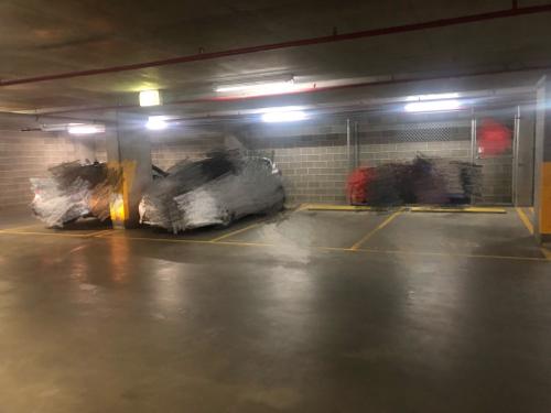parking on Sussex St in Barangaroo
