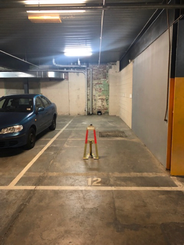 Lock up garage parking on Victoria St in North Melbourne VIC 3051