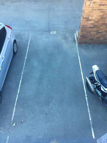 parking on Gallimore Avenue in Balmain East NSW