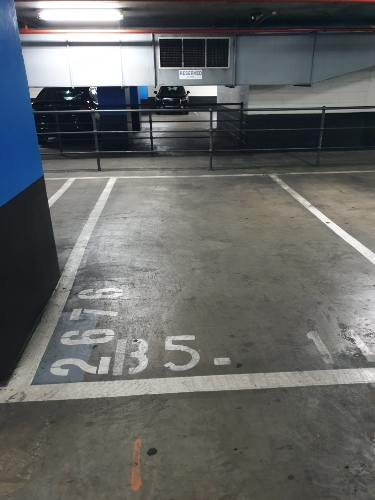 parking on The Paramount Centre in Bourke Street