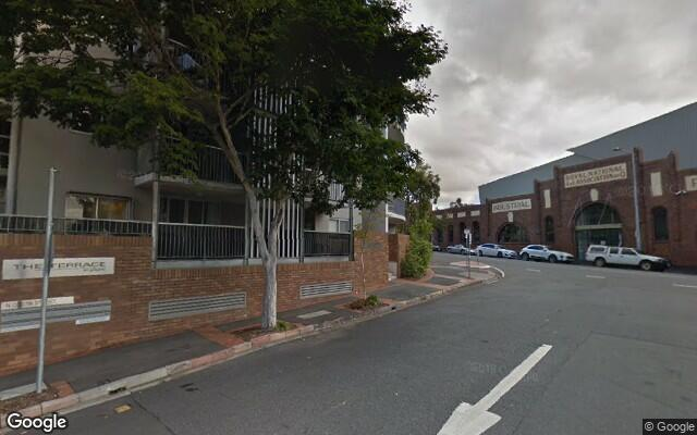 parking on Gregory Terrace in Fortitude Valley QLD 4006
