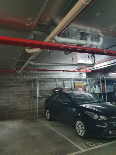 Indoor lot parking on Stanley St in Collingwood