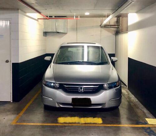 Indoor lot parking on Adelaide Street in Brisbane