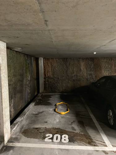 Indoor lot parking on Doris Street in North Sydney