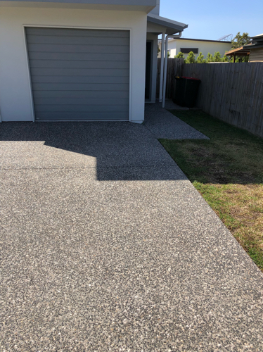 Driveway parking on Mcaneny St in Redcliffe