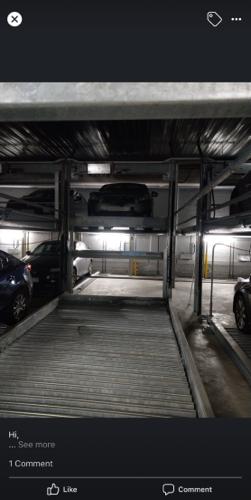 Indoor lot parking on Cambridge Street in Collingwood VIC
