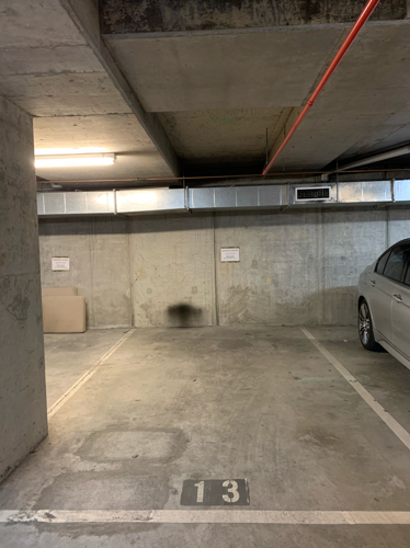 Basement parking near Hospital and Unimelb