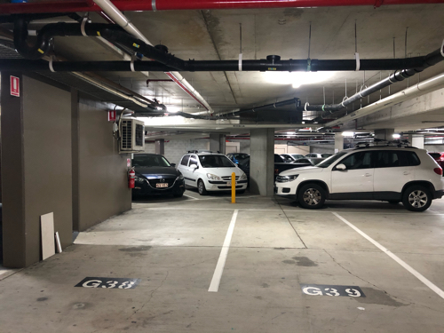 Undercover parking on Ann St in Fortitude Valley QLD 4006