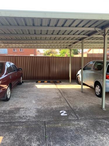 parking on Julia St in Ashfield