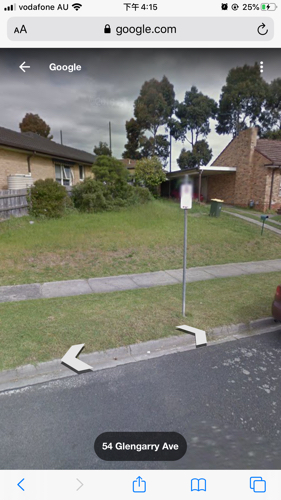 Outside parking on Inverness Avenue in Burwood