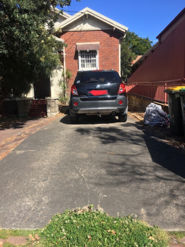 Driveway parking on Botany St in Randwick NSW 2031