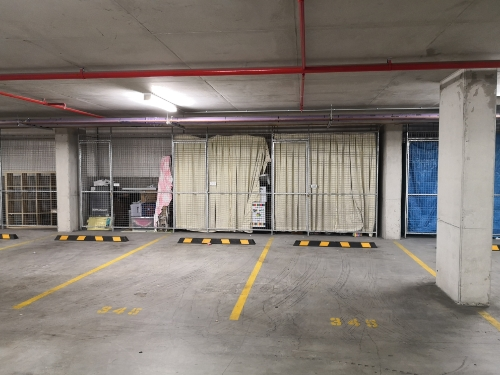 Indoor lot parking on Bennelong Pkwy in Sydney Olympic Park