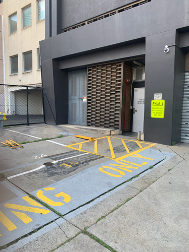Outside parking on Kings Way in South Melbourne VIC 3205