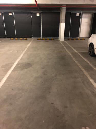 Indoor lot parking on Waterside Pl in Docklands