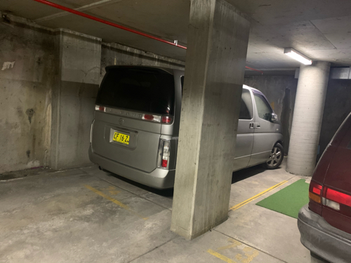 Indoor lot parking on Chalmers Street in Surry Hills NSW