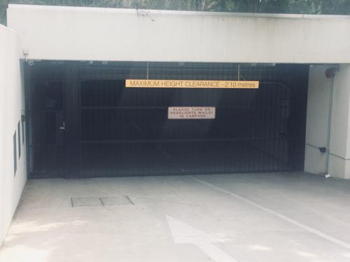 Lock up garage parking on Cardigan St in Carlton