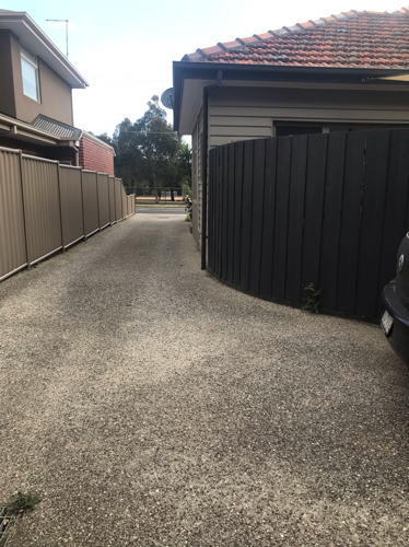 parking on Essex St in West Footscray