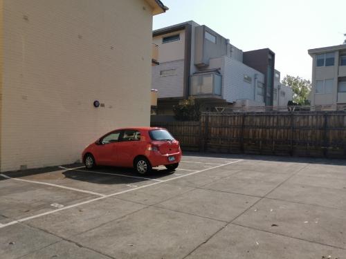 parking on Murray Street in Prahran