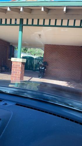 parking on Bampton Way in Warnbro
